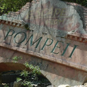 Escape from Pompeii - Italy - Water Ride