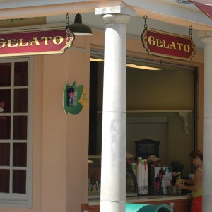 Gelato - Italy - Food Stand