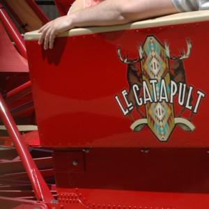 Le Catapult - New France - Flat Ride - 2014