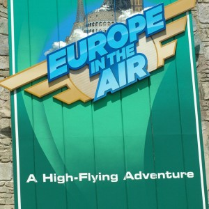 Ireland - Europe in the Air - Dark Ride - 2014