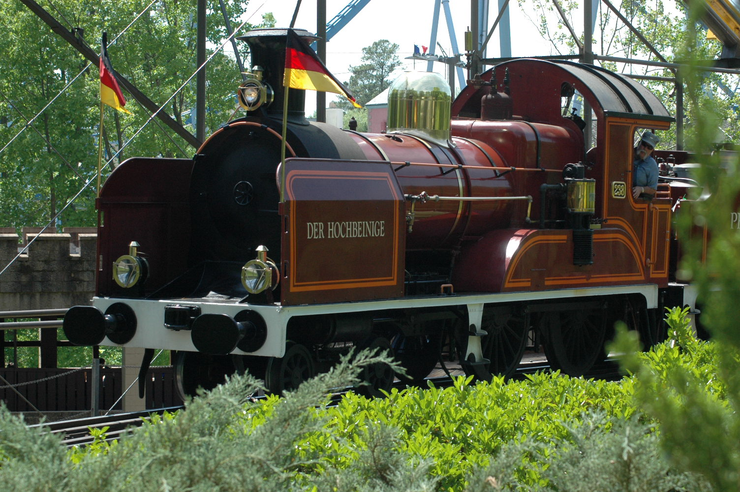 Busch Gardens Railway Busch Gardens Williamsburg