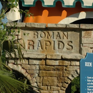 Festa Italia - Roman Rapids - Water Ride - 2014