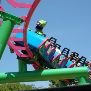 Forest of Fun - Grover's Alpine Express - Roller Coaster - 2014