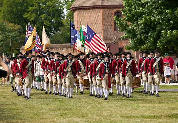 colonial williamsburg formation